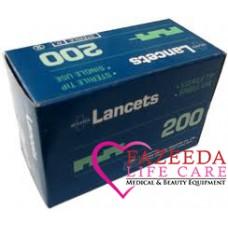 Lancet misawa 21G 200pcs